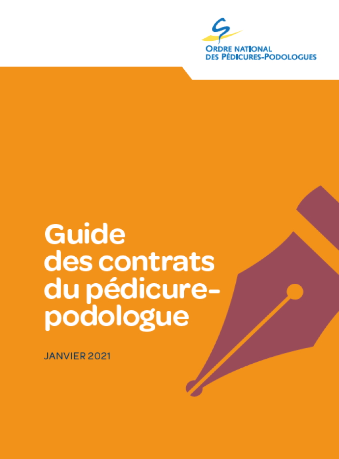 Guide des contrats du pédicure-podologue